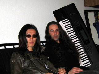 taka and Michale T.Ross. when taka was working on demo in 2005